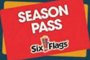 6 flags passes for Sale in Fort Worth, TX