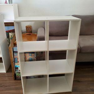 White 6 Cube Organizer Shelf Storage for Sale in Virginia Beach, VA