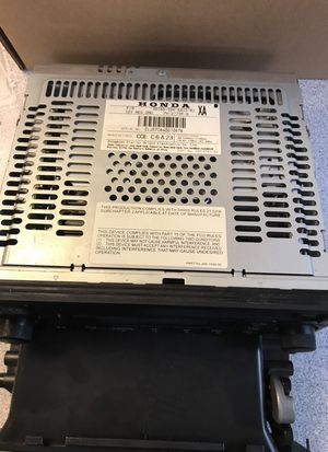 Honda Pilot 2006-2007 cd radio player for Sale in Chula Vista, CA