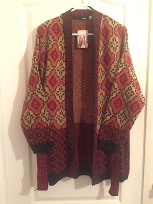 New U.K. Urban Outfitters BDG Long Open Cardigan Women's M for Sale in Tempe, AZ
