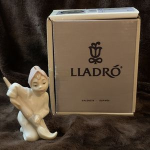 LLADRO Christmas ELF ORNAMENT with Paintbrush #5938 RETIRED 1993 w/Original BOX for Sale in Federal Way, WA