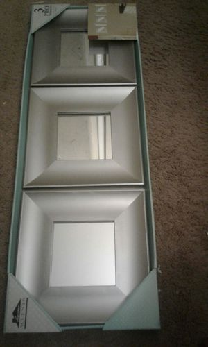 3: piece wall deco mirror for Sale in Silver Spring, MD