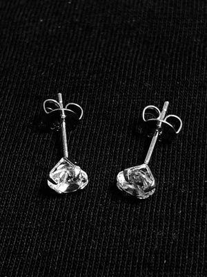 Sterling Silver CZ stud earrings for Sale in Las Vegas, NV
