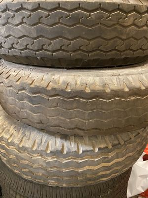 One used 8x14.5 mobile home tire $30 no bargaining for Sale in Rancho Cucamonga, CA