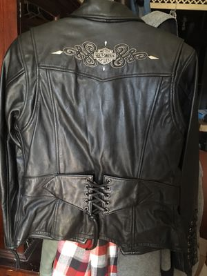 Women's Harley Davidson leather jacket for Sale in McKees Rocks, PA