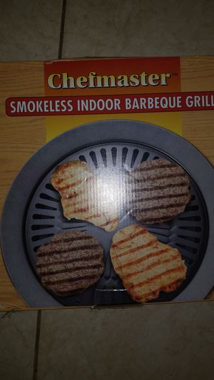 Smokeless indoor bbq grill new in box for Sale in Saint Petersburg, FL