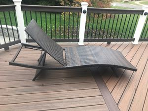 Outdoor Lounge Chair for Sale in Bristow, VA