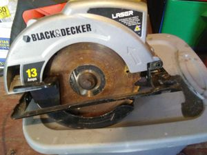 Black & Decker Circular Saw for Sale in Winter Haven, FL
