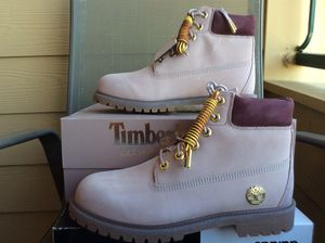 """NEW YOUTH BIG KIDS WOMEN TIMBERLAND """"THE LEGEND COLLECTION """" 6' BOOTS Sz 7Y=8.5W for Sale in Lewisville, TX"""