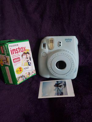 Instax mini 8 poloroid+films+selfie attachment for Sale in Arlington, VA