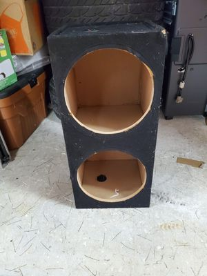 "Speaker box for 2-12"" woofers for Sale in Coral Springs, FL"