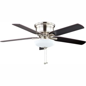 Brand new 52 in LED ceiling fan in brushed nickel with light kit for Sale in Las Vegas, NV