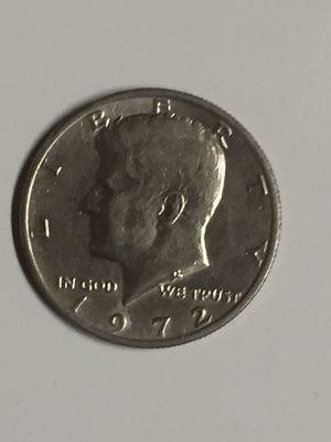 1972 US half dollar for Sale in Boston, MA