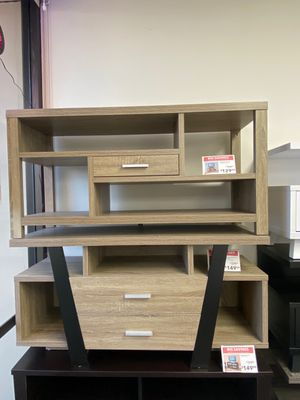 Daisy Tv Stand, Dark Taupe, SKU # 14966 for Sale in Downey, CA