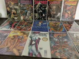 15 Various Comic Books Sleeved #tomoko4k CM1 for Sale in La Puente, CA