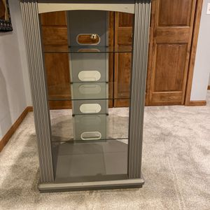 Stereo Console Stand for Sale in Naperville, IL