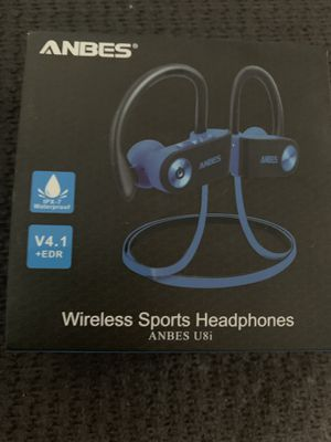 Anbes Wireless sports headphones for Sale in Long Beach, CA