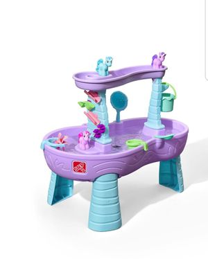 Step 2 Rain Showers Unicorns Water Table for Sale in Sterling Heights, MI