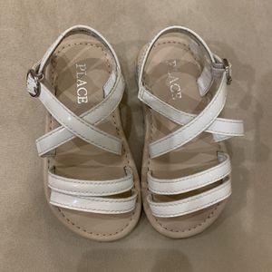 7T white girl sandals for Sale in Cerritos, CA