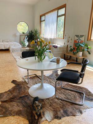 Vintage mid century tulip table for Sale in Altadena, CA