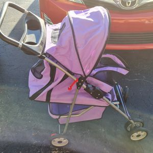Dog Stroller W/ Cup Holders for Sale in St. Petersburg, FL