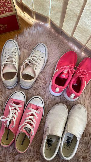 Converse, vans, Nike roshe for Sale in San Jose, CA
