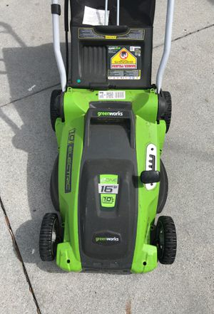 Green works Lawn Mower for Sale in Los Angeles, CA
