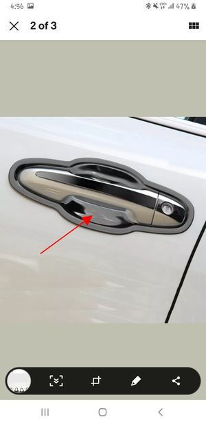 For Toyota Highlander 2015-2020 Black Titanium Door Handle Bowl Protector Cover for Sale in Fairview, OR