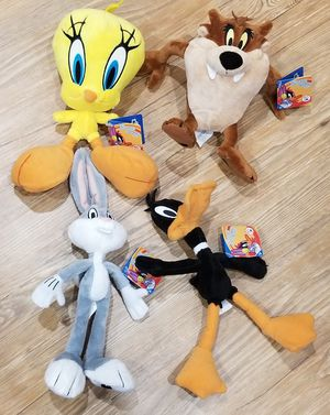 "Looney Tunes 8"" Plush Toys - Collectible Set for Sale in Fairfax, VA"