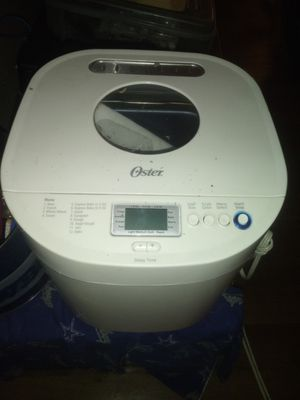 Selling Oster 2lb express bread maker! $60 OBO! for Sale in San Antonio, TX