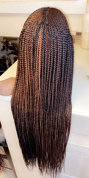 BEAUTIFUL BRAIDED LACE FRONTAL FULANI WIG for Sale in Miami Gardens, FL