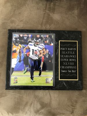 Seattle Seahawks XLVIII Champions Plaque for Sale in Fort Leonard Wood, MO