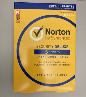 Norton Security Deluxe for Sale in Seattle, WA