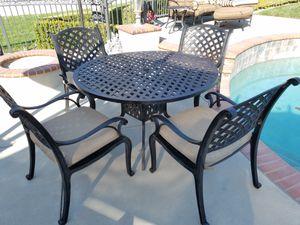 Patio set Cast aluminum design for Sale in Upland, CA