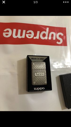 Supreme zippo for Sale in Plainfield, NJ