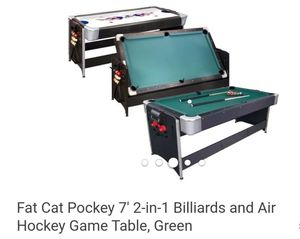 Fatcat pool table and air hockey for Sale in Ontario, CA