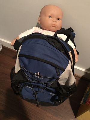 Deuter kangoroo hacking backpack blue for Sale in Burke, VA