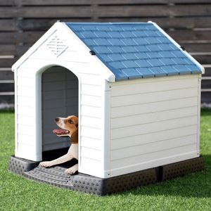 Indoor/Outdoor Waterproof Plastic Dog House Pet Puppy Shelter for Sale in Whittier, CA