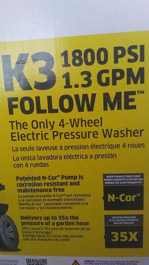 KARCHER K3 1800 PSI PRESSURE WASHER for Sale in Vancouver, WA