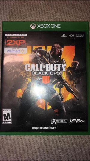 Call of Duty Black Ops 4 (Disk) for Sale in Glenburn, ME