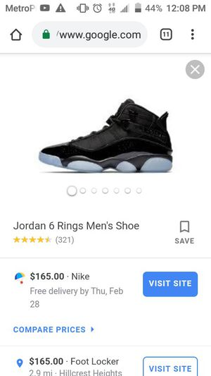 New Jordan 6 rings for Sale in Washington, DC