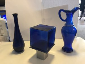 Cobalt Blue Collectable Glass for Sale in Mesquite, TX