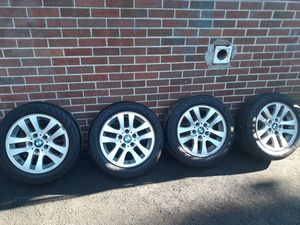 Stock 16 inch BMW wheels rims tires for Sale in Trumbull, CT