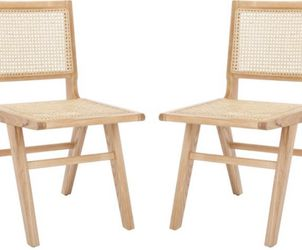 Hattie French Cane Dining Chair (Set of 2) - Safavieh. New.Retails $425 for Sale in Hillsboro,  OR