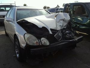 Silver 2001 Lexus GS430 FOR PARTS ONLY!!! for Sale in Rancho Cordova, CA
