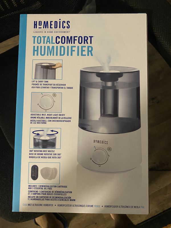 Homedics humidifier