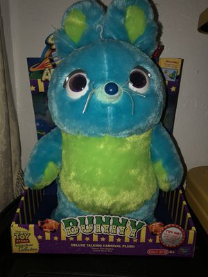 Disney Pixar Toy Story 4 Bunny signature collection for Sale in Hacienda Heights, CA