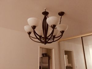 Beautiful Spanish ceiling Chandelier great condition for Sale in Los Angeles, CA