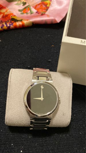 Movado sapphire crystal Swiss made watches for Sale in Rockville, MD