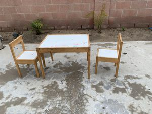 Kids IKEA table and chairs for Sale in Cypress, CA